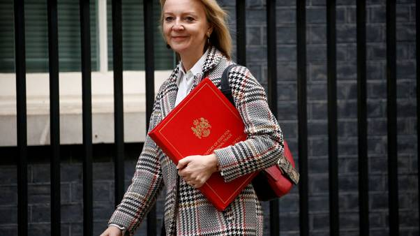 Trade minister Truss backs WTO reform before Brexit