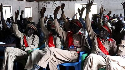 United Nations Mission in South Sudan (UNMISS) holds peace dialogue to resolve differences between communities in Greater Lakes