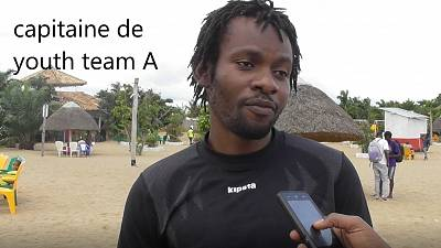 Tournoi de Rugby beach au Burundi