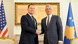 Trump's envoy visits Kosovo in push for new talks with Serbia