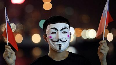 Hong Kong says not trying to stop protests, just violence