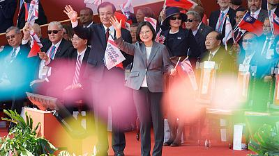 Taiwan leader rejects China's 'one country, two systems' offer