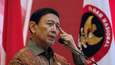 Indonesian security minister attacked by man with knife - police