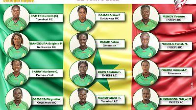 Rugby à VII - Africa Women's Sevens : liste définitive des 12 joueuses retenues