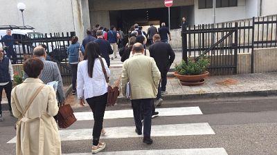 Allarme bomba al Tribunale Brindisi
