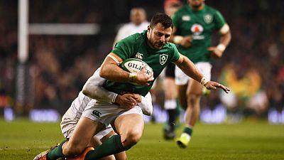 Ireland centre Henshaw back for Samoa crunch match