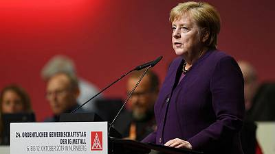 Germany must crack down on hate crimes, Merkel says after synagogue attack