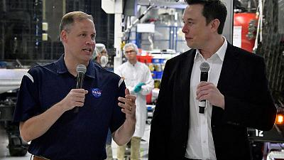 NASA aims for first manned SpaceX mission in first-quarter 2020
