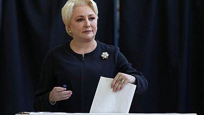 Romanian lawmakers topple PM Dancila's government