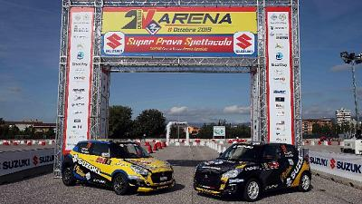 Campioni Rally Italia Talent al 2 Valli