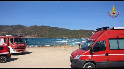 Salvo il surfista disperso in Sardegna