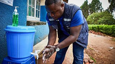 From one Ebola front line to another in the Democratic Republic of the Congo: Dr Didier Mwesha, WHO Infection Prevention and Control Expert