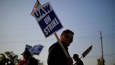 As GM workers picket, Michigan's economy feels the chill