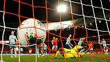 Dutch grab late goals to beat Northern Ireland