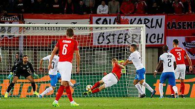Hinteregger the unlikely hero as Austria beat Israel