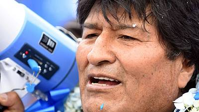 Bolivian election polls show opposition reeling in President Morales