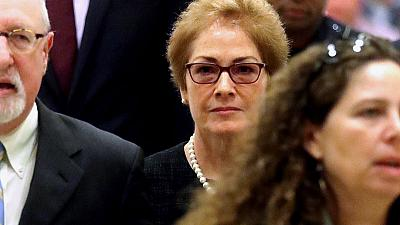 Ex-envoy tells impeachment inquiry Trump ousted her based on 'false claims'