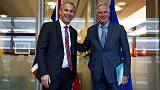 Tusk tempers optimism on Brexit deal, says time is nearly up though agreement is still possible