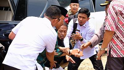 Indonesian president tightens security for ministers after attack