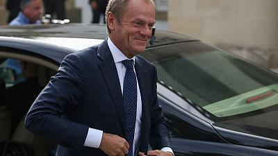Tusk says Erdogan's threats of flooding Europe with refugees 'totally out of place'