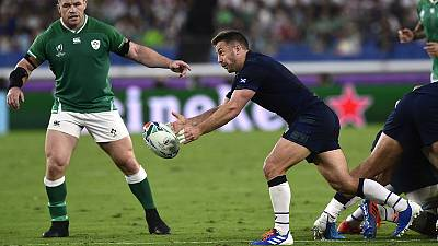 Laidlaw captains Scotland against Japan, McInally drops to bench