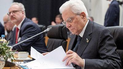 Siria: Mattarella, Ue marginale