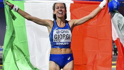 Atletica:Giorgi in lizza per premio 2019