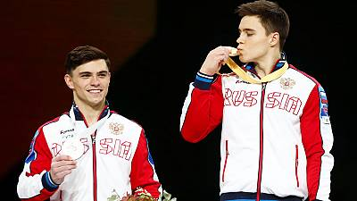 Russia's Nagornyy captures all-around world title in Stuttgart