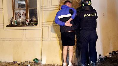 Czech police detain 31 in rioting ahead of England qualifier