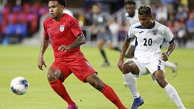 McKennie scores record hat-trick as U.S. hammer Cuba 7-0