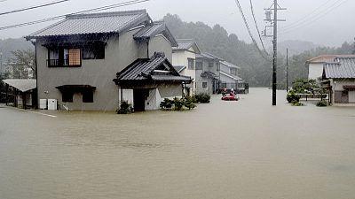 One killed in Japan as typhoon makes landfall, millions advised to evacuate