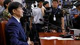 Scandal over justice minister galvanises South Koreans at protests