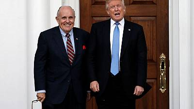 Trump defends Giuliani in tweet after report of federal probe