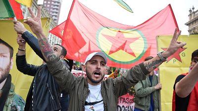 Torino in piazza contro invasione Siria