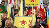 Kurds march in Paris and Athens to protest Turkish incursion into Syria
