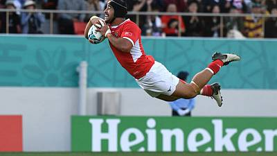 Tongans send Piutau off in style with win over United States