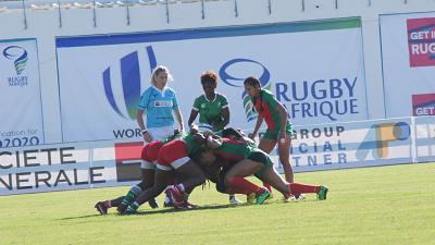 2019 Rugby Africa Women's Seven Kicks Off its First Day on a High Note