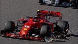 Gp Giappone: Leclerc perde una posizione