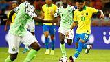 Neymar injured as Brazil draw 1-1 with Nigeria in friendly