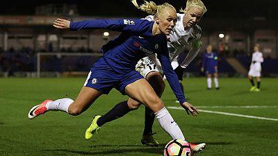 Late Thorisdottir strike gives Chelsea 2-1 win over Arsenal