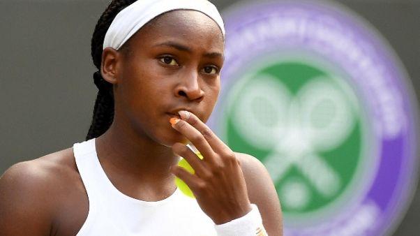 Tennis: Cori Gauff trionfa a 15 anni