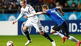 Gundogan powers Germany to victory after Can sees red