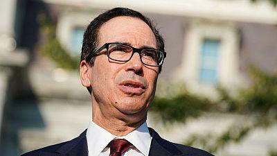 U.S. Treasury Secretary Mnuchin sees tariffs being imposed Dec. 15 if no China trade deal