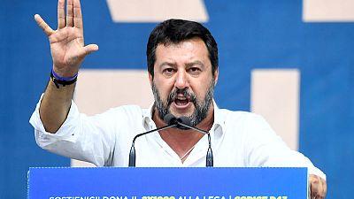 Italy's eurosceptic leader Salvini says euro is 'irreversible'
