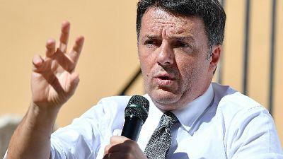 Manovra: Renzi, eliminare quota 100