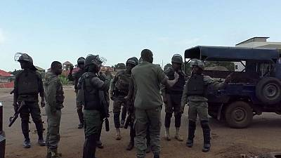 Police in Guinea crack down on protest against constitutional change