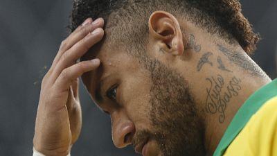Nuovo stop per Neymar, stop di un mese