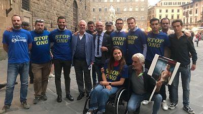 Chiavi Firenze a Gere,proteste cdx e M5s
