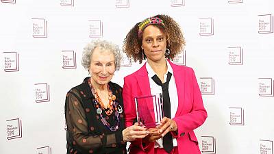 Rule-breaking Booker judges honour Atwood, Evaristo with rare double prize