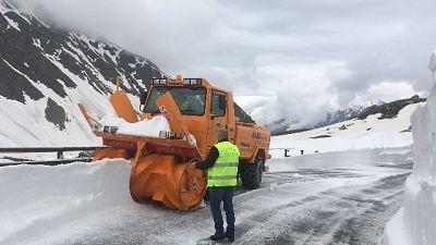 Neve, chiuso colle Piccolo San Bernardo